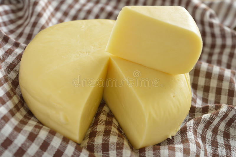 Suluguni cheese royalty free stock photography