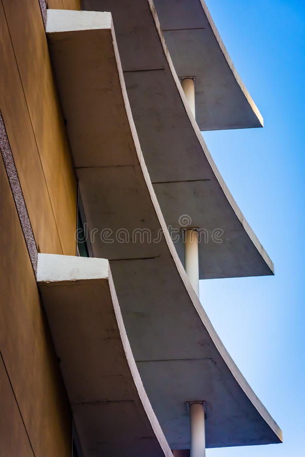 Sumário arquitetónico em Wilmington do centro, Delaware imagem de stock royalty free