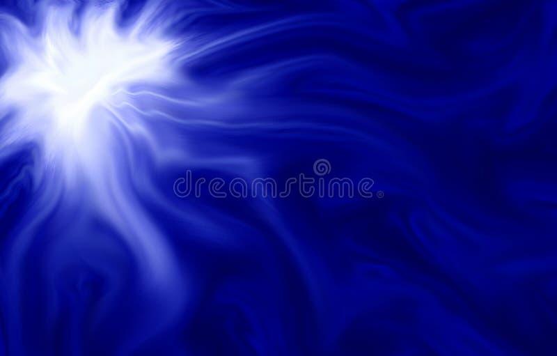 Sumário azul ilustração do vetor