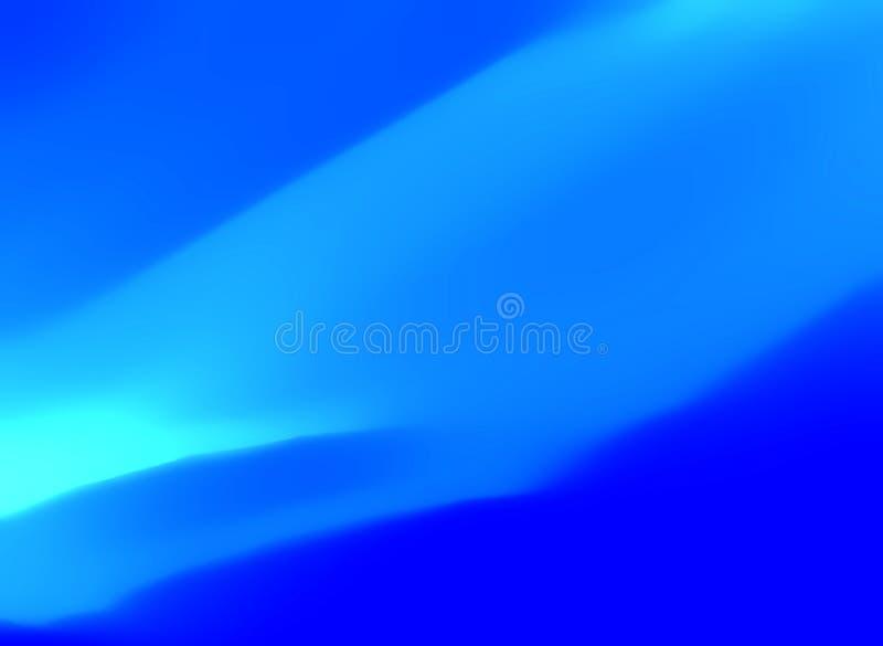 Sumário azul Curvy foto de stock