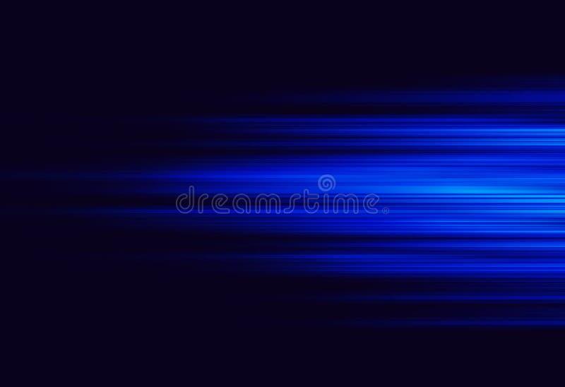 Sumário azul de incandescência fotografia de stock royalty free
