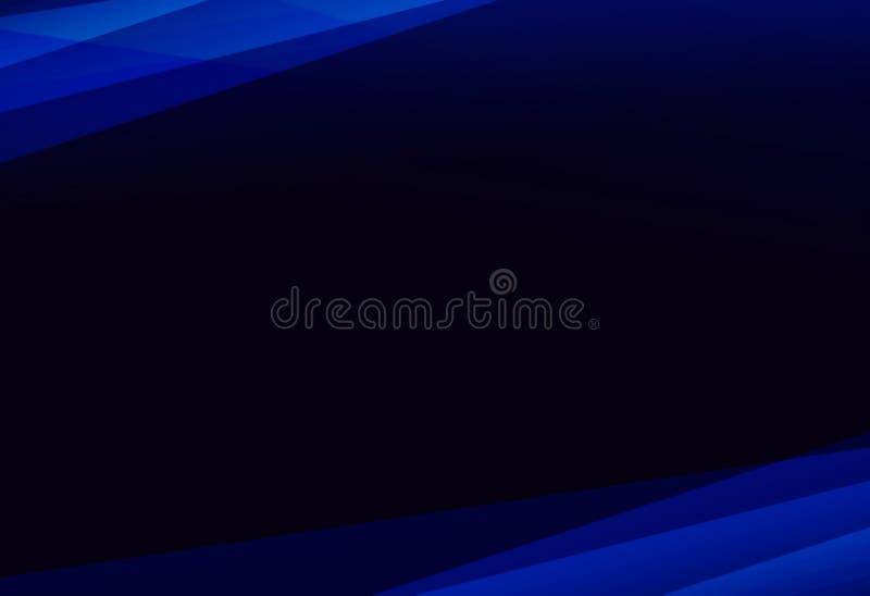 Sumário azul de incandescência moderno fotografia de stock royalty free