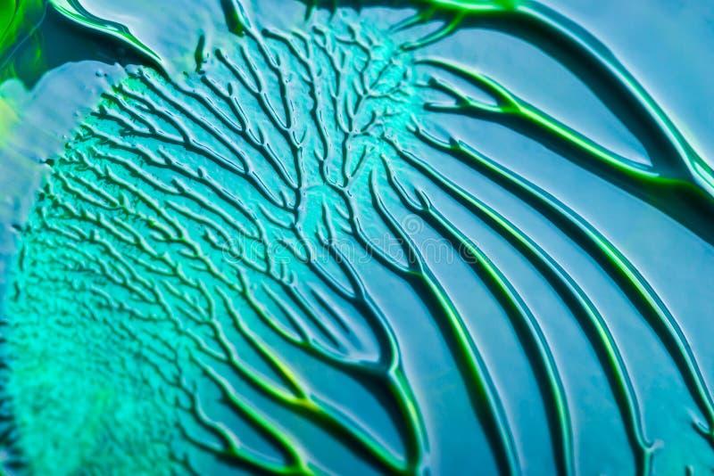 Sumário azul e verde fotos de stock royalty free