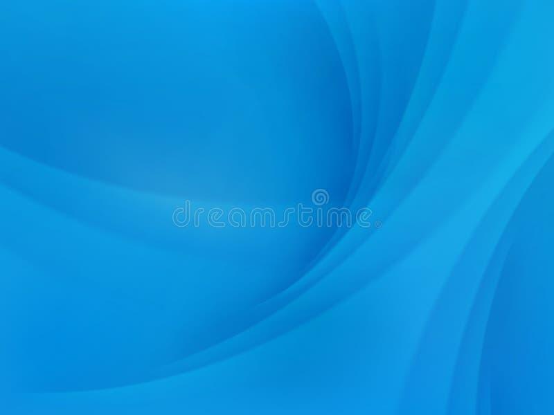 Sumário azul frio Eps 10 ilustração stock