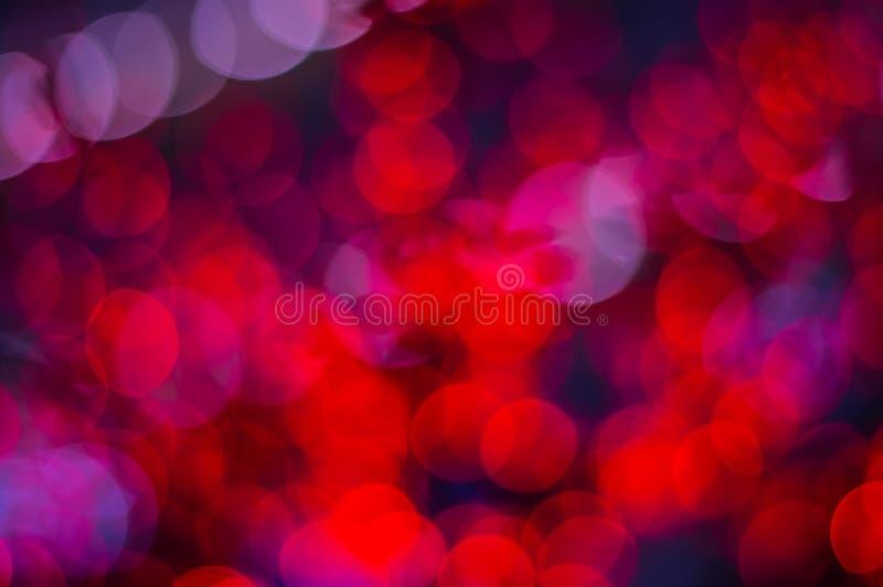 Sumário borrado Colorfull vermelho da textura do brilho imagens de stock