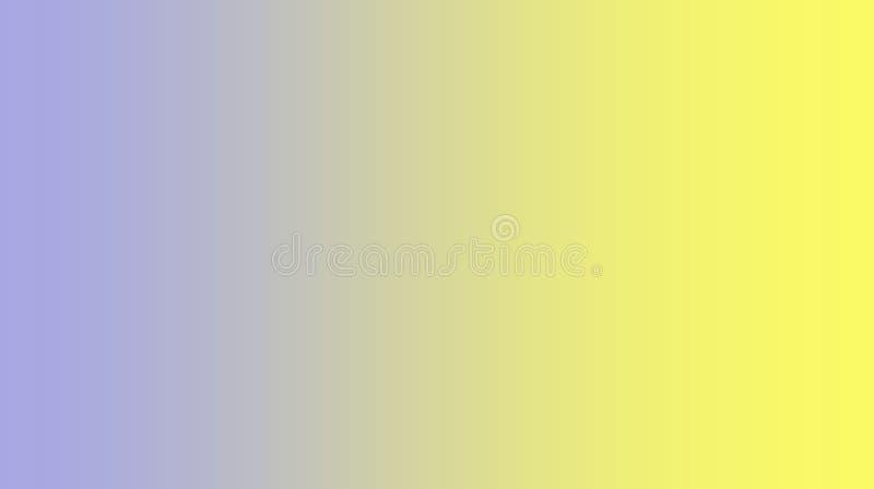Sumário colorido luz azul pastel protegida borrada - multi fundo amarelo dos efeitos da cor ilustração do vetor