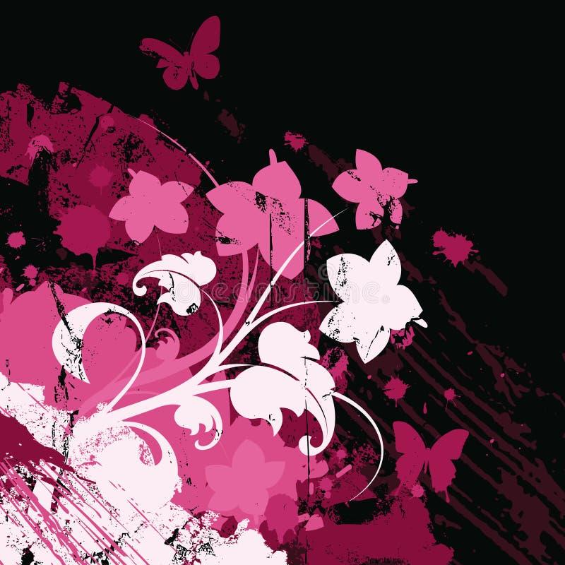 Sumário com flor ilustração royalty free