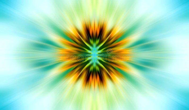 Sumário conceptual do sol ilustração do vetor