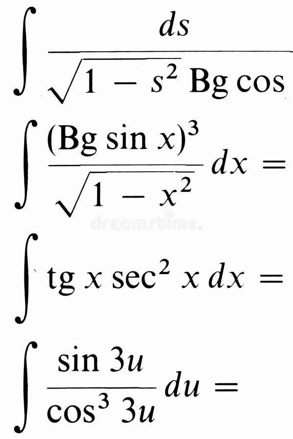 Sumário da matemática fotos de stock royalty free