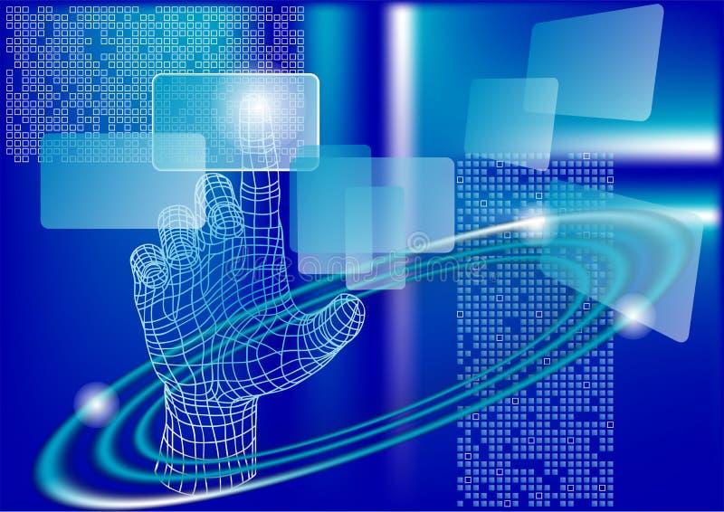 Sumário da tecnologia ilustração do vetor
