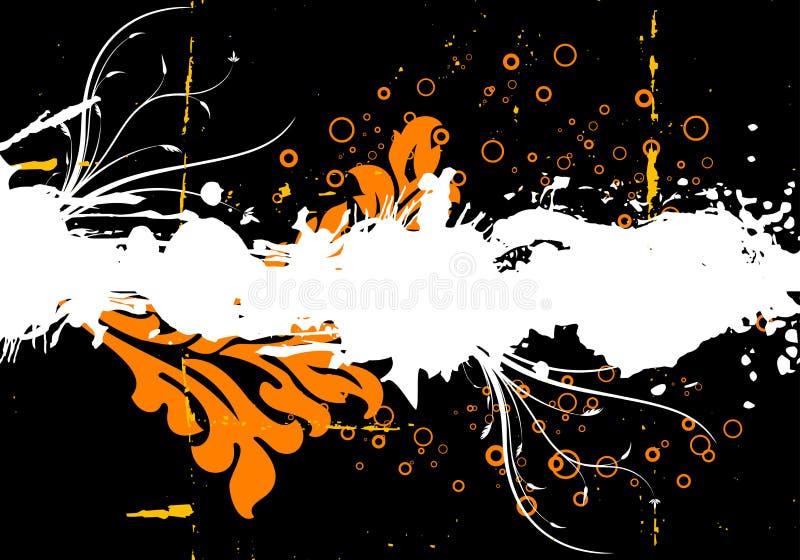 Sumário de Grunge ilustração royalty free
