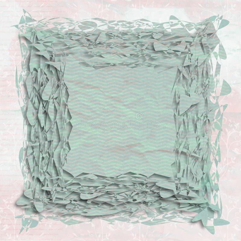 Sumário de papel Shredded ilustração do vetor