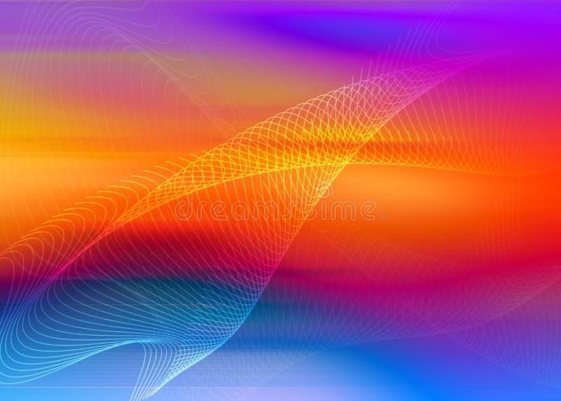 Sumário do arco-íris ilustração do vetor