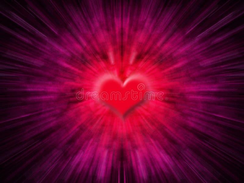 Sumário do coração ilustração stock