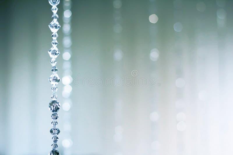 Sumário do cristal cego fotografia de stock