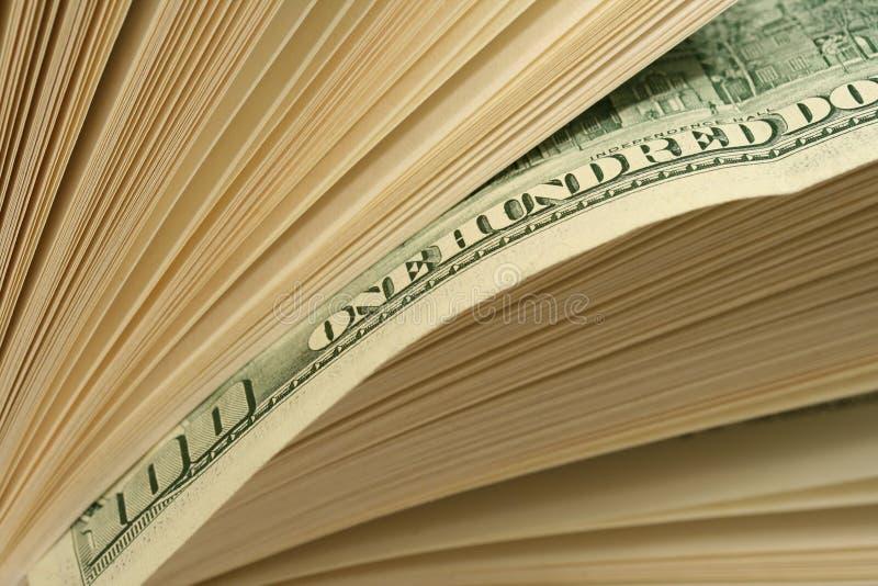 Sumário do dinheiro imagem de stock
