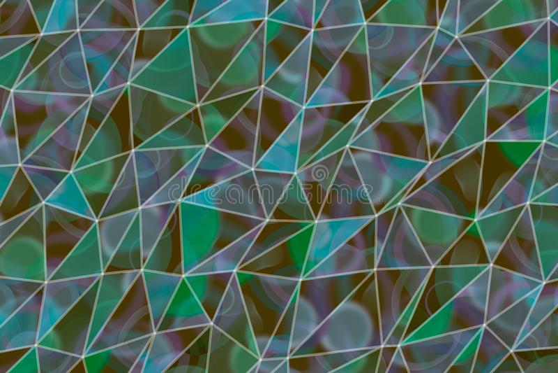 Sumário do fundo das ilustrações da tira do triângulo, teste padrão da textura geométrica Desarrumado, forma, superfície & molde foto de stock