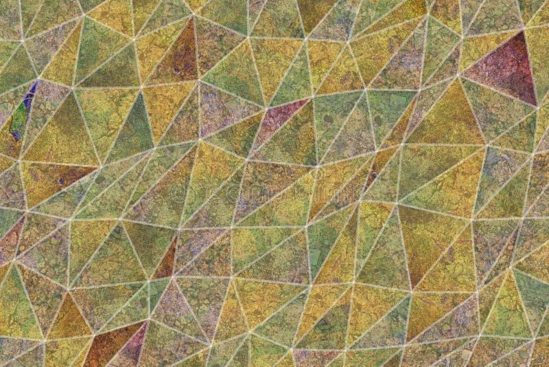 Sumário do fundo das ilustrações da tira do triângulo, teste padrão da textura geométrica Desarrumado, Web, tampa & contexto fotos de stock royalty free