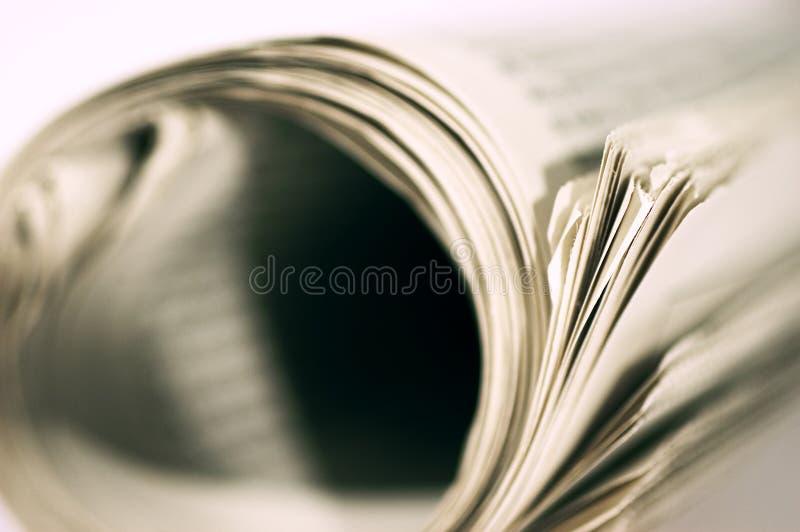Sumário do jornal imagens de stock royalty free