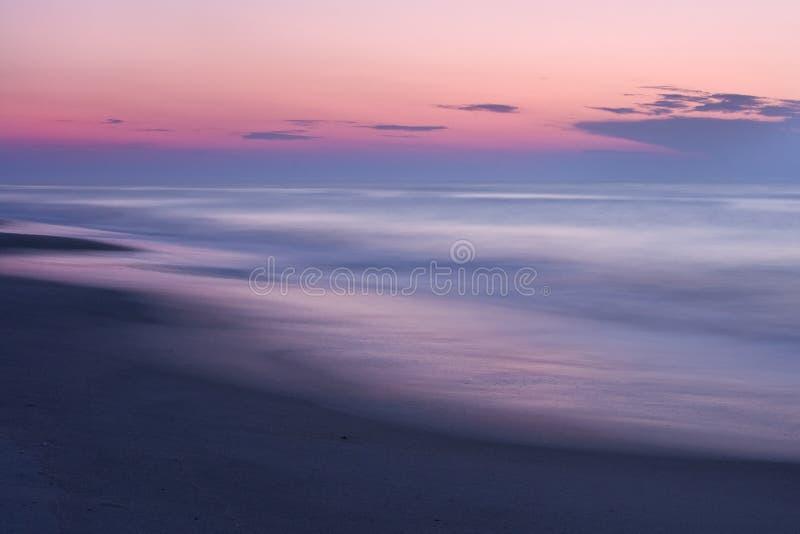 Sumário do nascer do sol da praia fotos de stock royalty free
