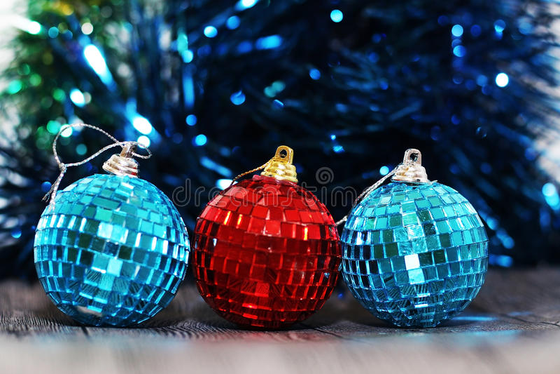 Sumário do Natal, e decoração do ano novo imagens de stock