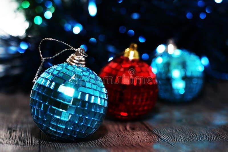 Sumário do Natal, e decoração do ano novo imagem de stock