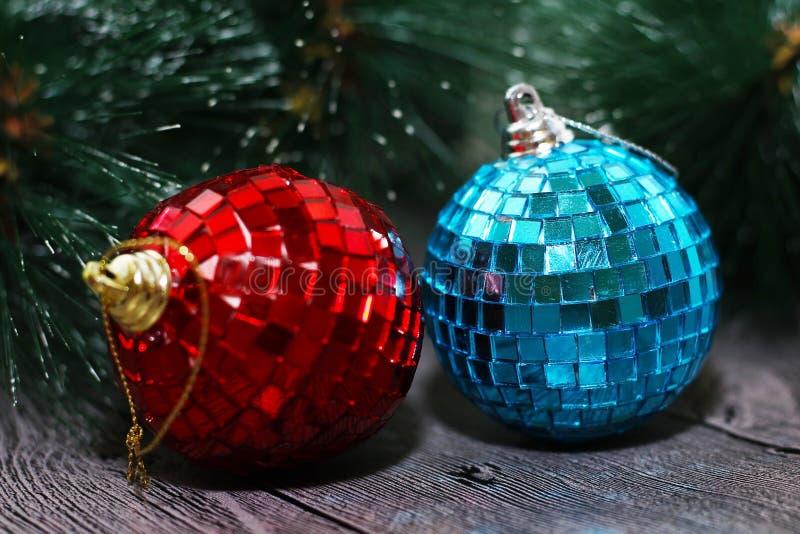 Sumário do Natal, e decoração do ano novo fotos de stock royalty free