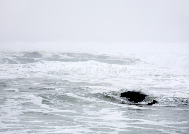 Sumário do Oceano Pacífico imagem de stock