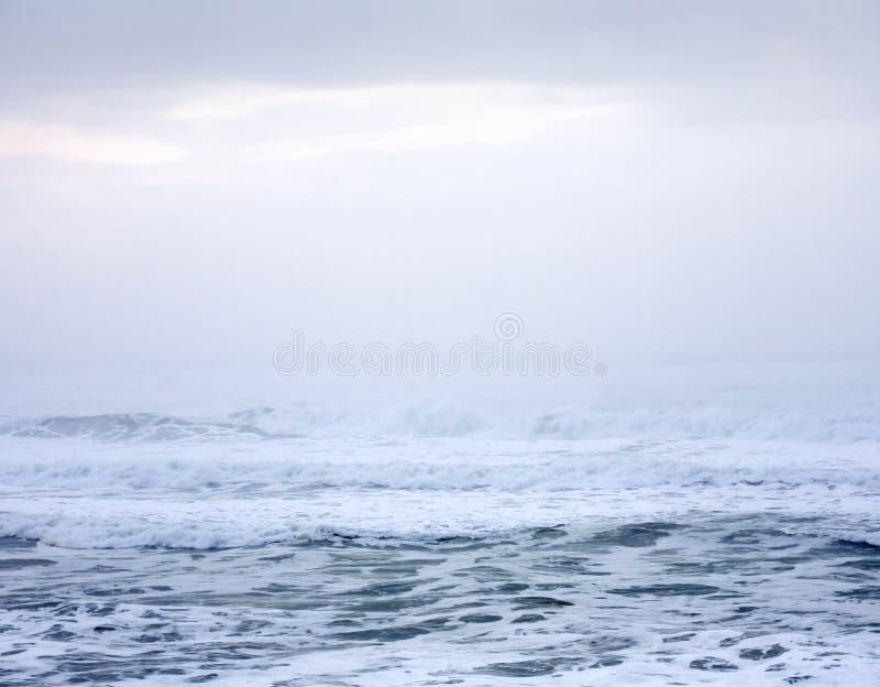 Sumário do Oceano Pacífico fotografia de stock
