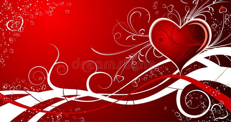 Sumário do Valentim ilustração royalty free