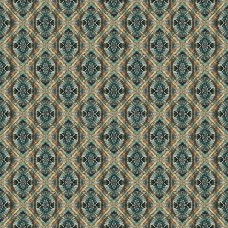 Sumário do vintage e teste padrão sem emenda geométrico imagens de stock royalty free