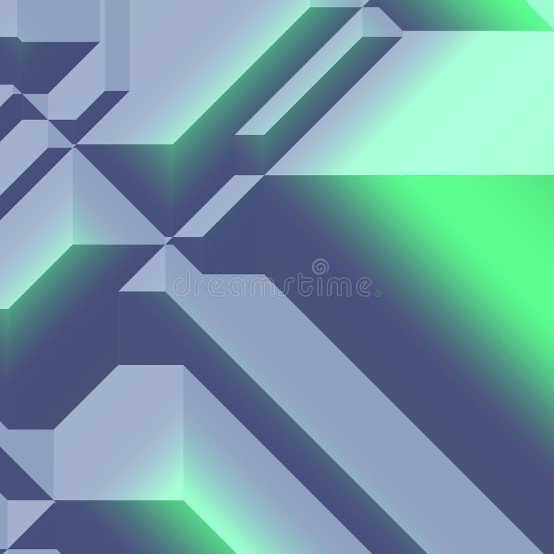 Sumário geométrico angular ilustração do vetor