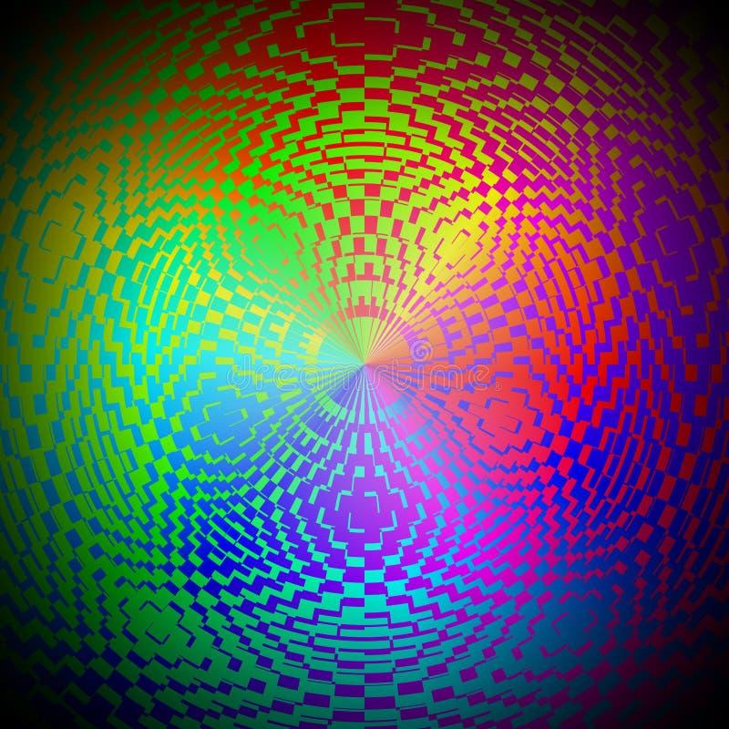 Sumário hipnótico ilustração do vetor