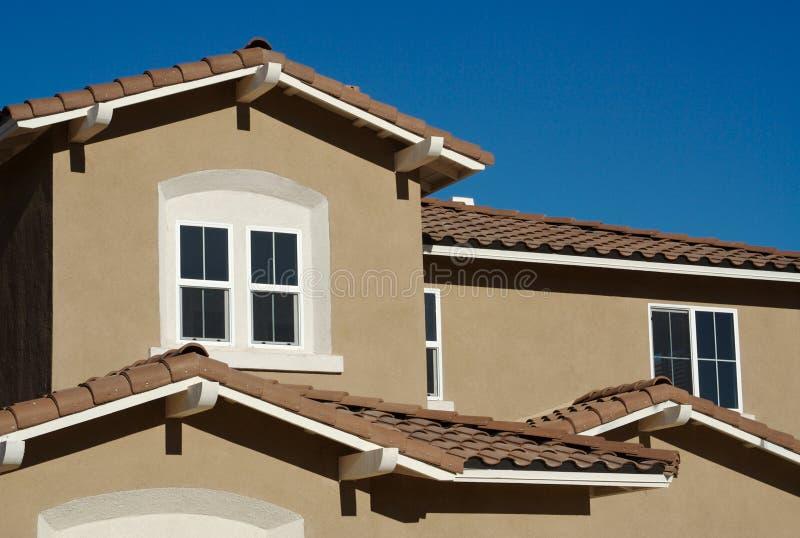 Sumário Home moderno novo foto de stock royalty free