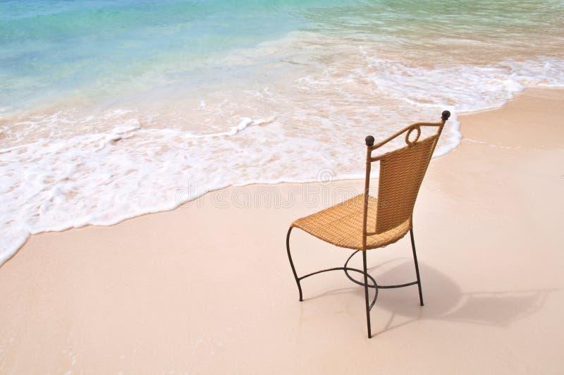 Sumário ideal do abrandamento da praia imagens de stock