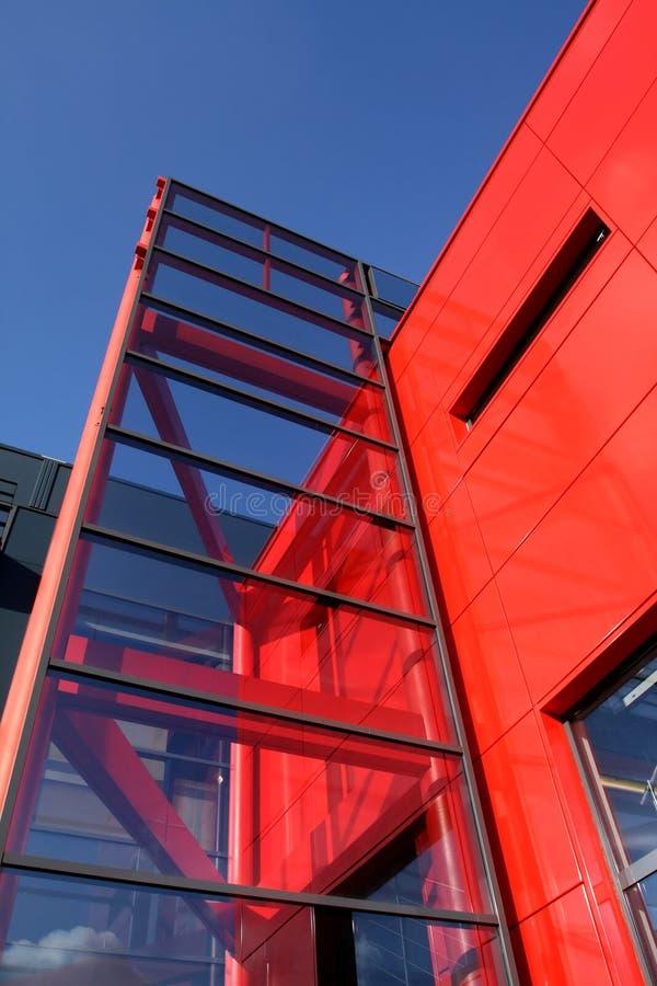 Sumário moderno da arquitetura foto de stock