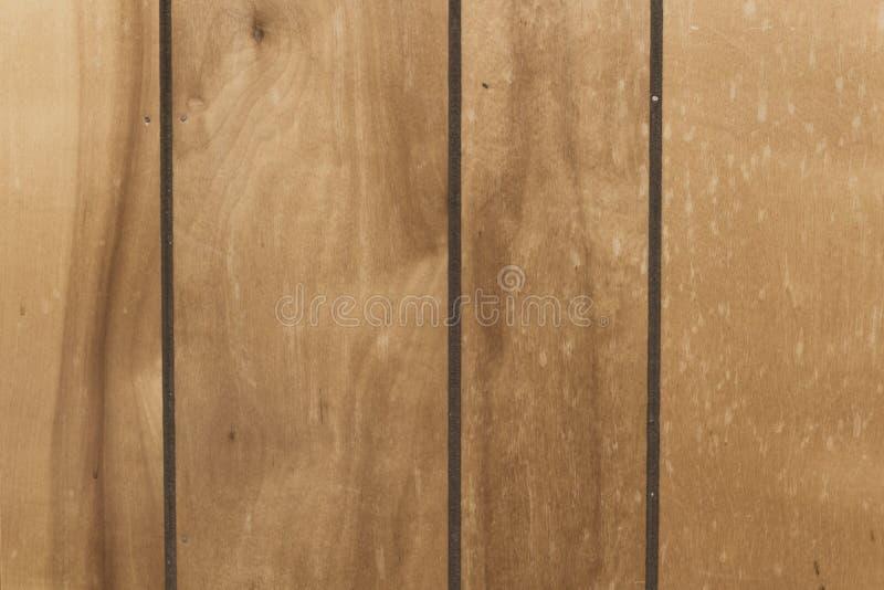 Sumário velho manchado do fundo do paneling foto de stock