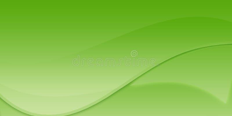 Sumário verde ilustração royalty free