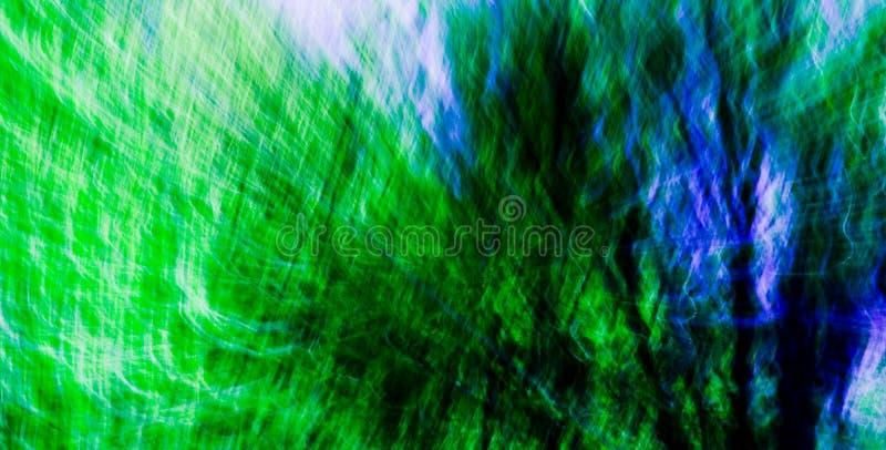 Sumário verde/azul #2 da mistura fotos de stock royalty free
