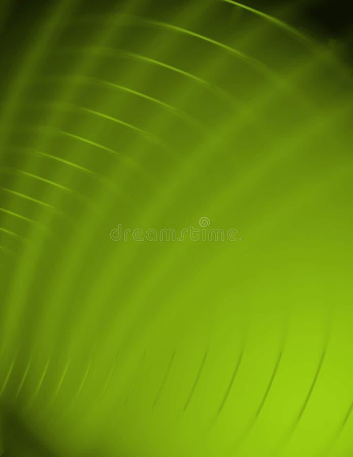 Sumário verde do redemoinho ilustração do vetor