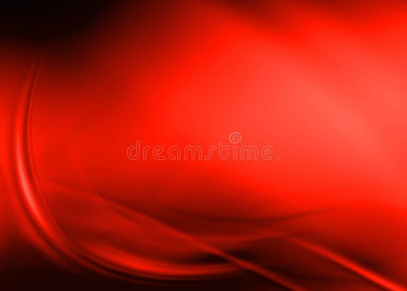 Sumário vermelho ilustração royalty free