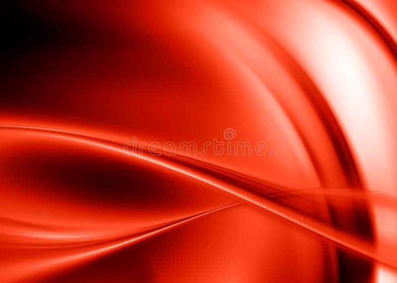 Sumário vermelho ilustração stock