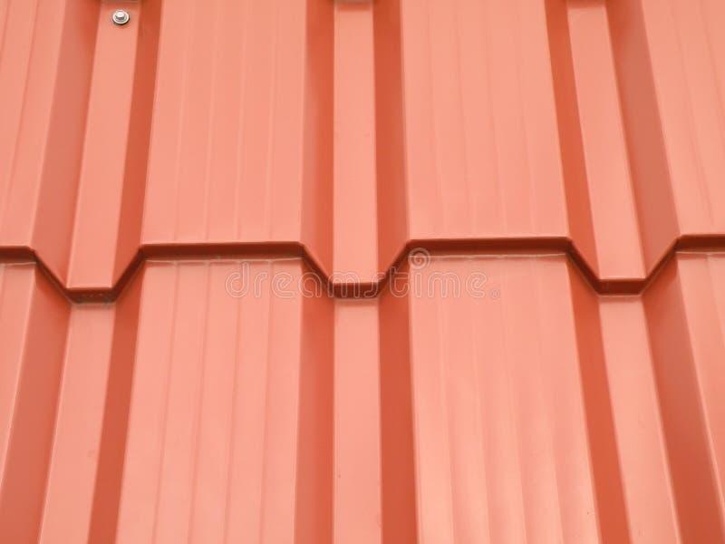 Sumário vermelho do telhado imagem de stock