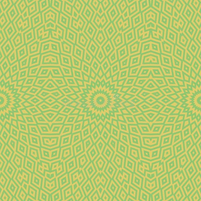 Sum?rio da textura da telha do teste padr?o geom?trico ornate ilustração do vetor