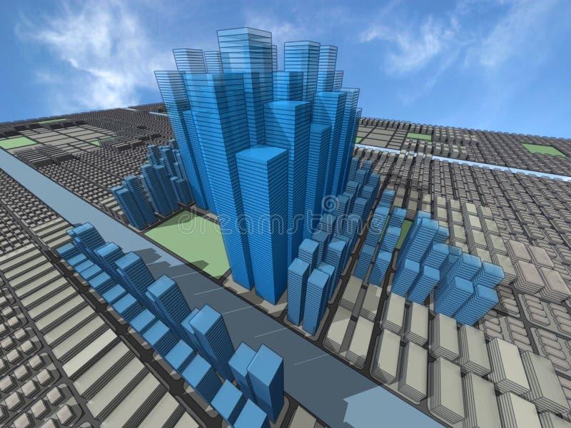 suma miasta ilustracji