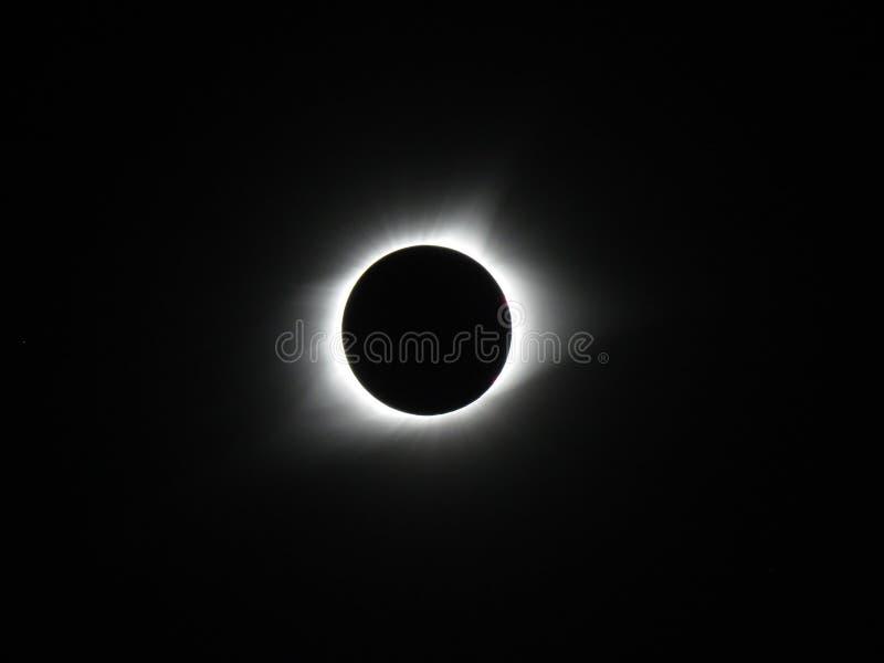 Sumaryczny Księżycowy zaćmienie obrazy royalty free