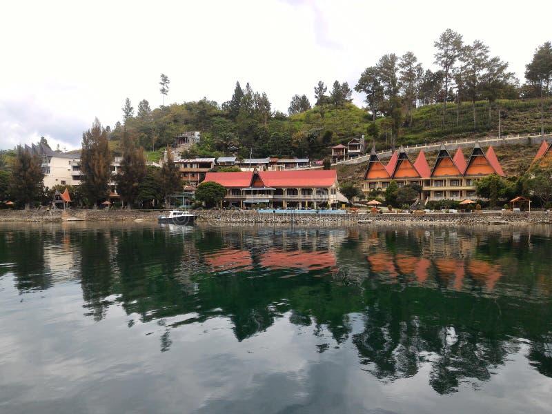 Sumatera del norte Indonesia de Parapat foto de archivo libre de regalías