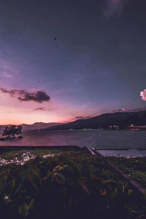 Sumatera Singkarak озера западное стоковая фотография