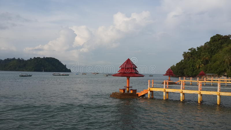 Sumbar indonesian royalty free stock images