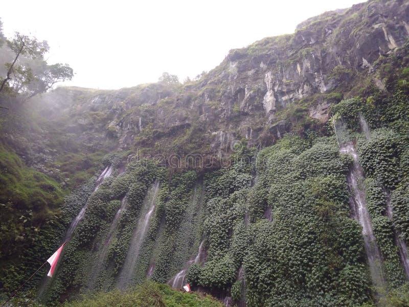 Sumber Pitu Waterfall stock photos